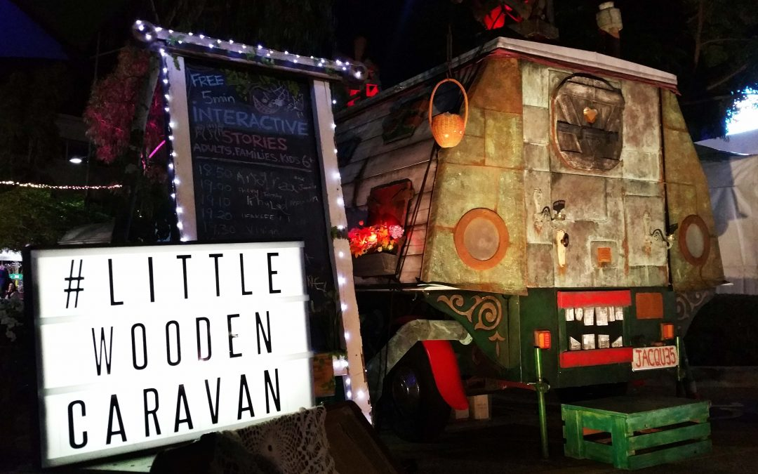 The Little Wooden Caravan: Shared Table Stories