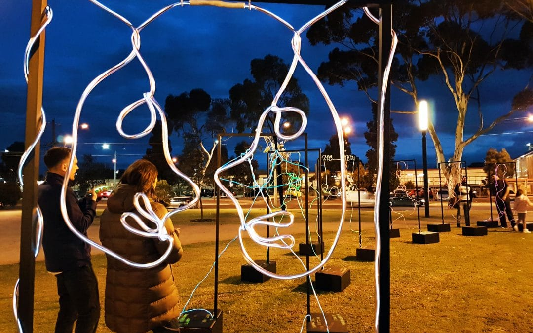 Morphology: Interactive Public Art